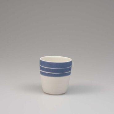 espresso cup porcelain blue sky