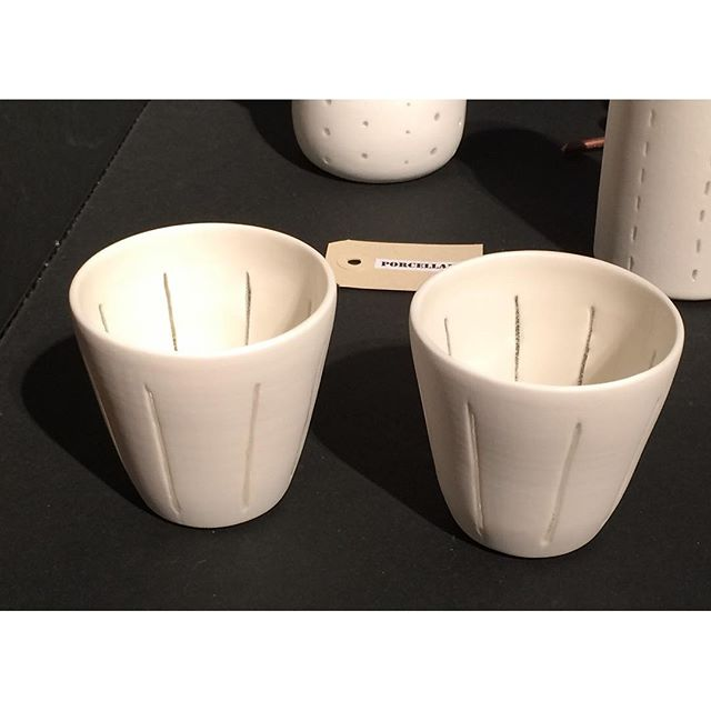espresso cups in porcelain