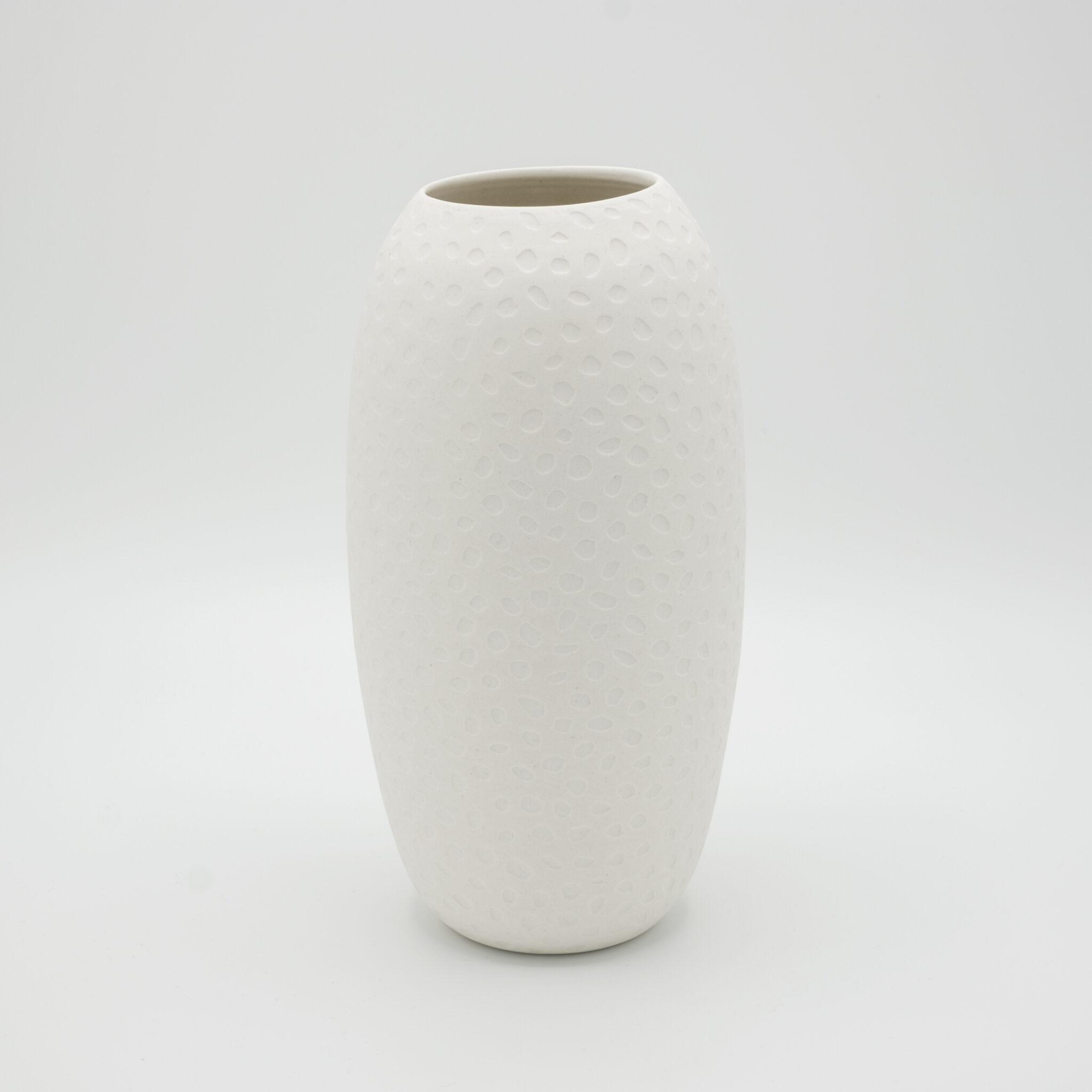 handmade porcelain vase moon 21 cm