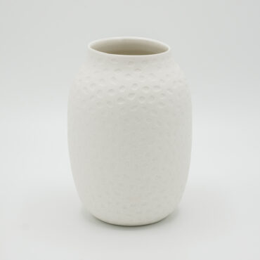hand thrown moon vase 15 cm h