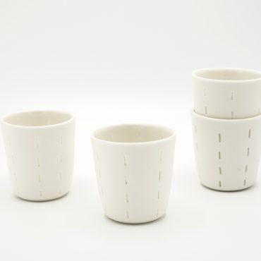porcelain espresso cups non-transparency