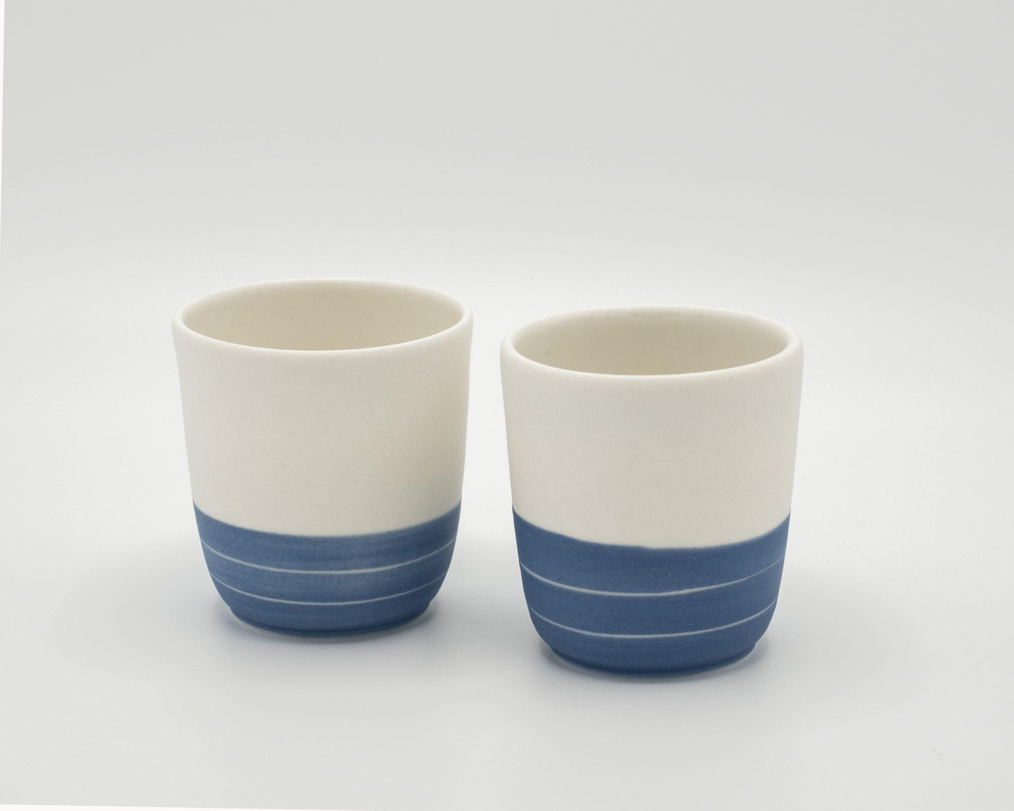 porcelain espresso cup blue sky nr 4